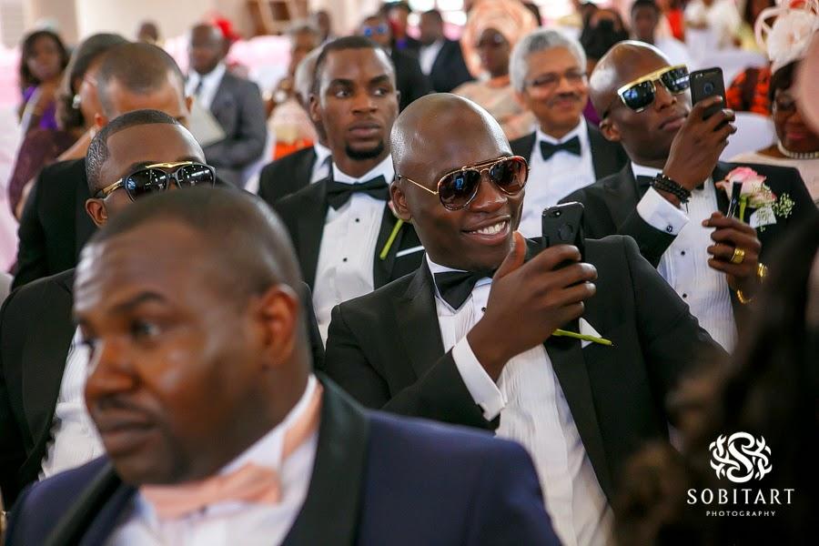 Dr Sid Simi Osomo White Wedding Loveweddingsng new5