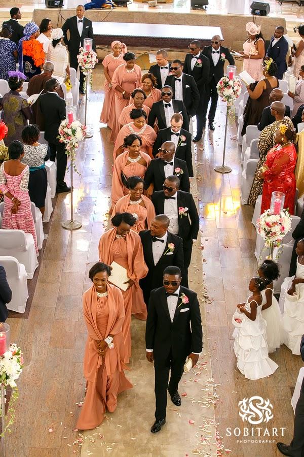 Dr Sid Simi Osomo White Wedding Loveweddingsng new6