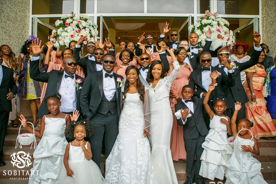 Dr Sid Simi Osomo White Wedding Loveweddingsng new8