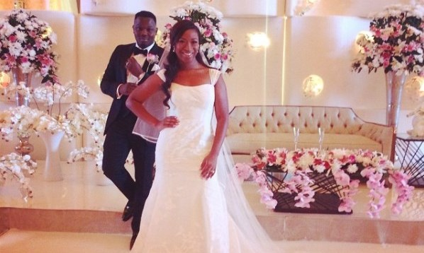 Pictures from Dr. SID & Simi Osomo's White Wedding