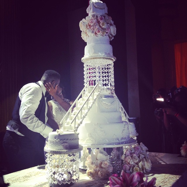 Dr Sid Simi Osomo White Wedding Loveweddingsng12