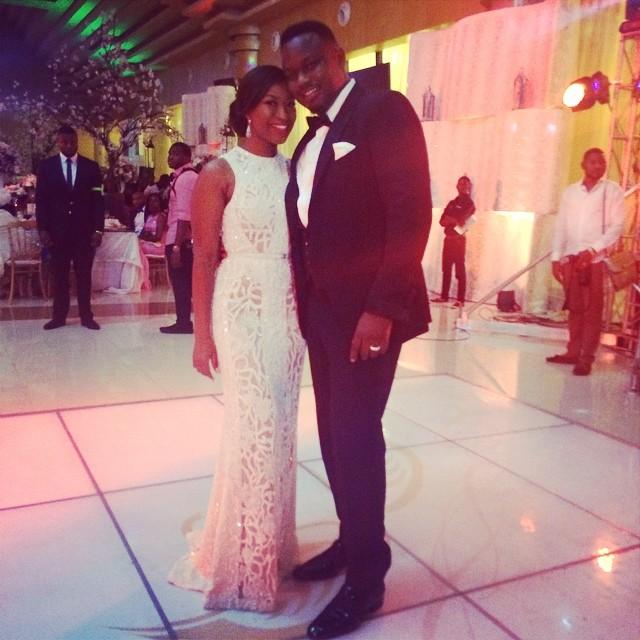 Dr Sid Simi Osomo White Wedding Loveweddingsng14