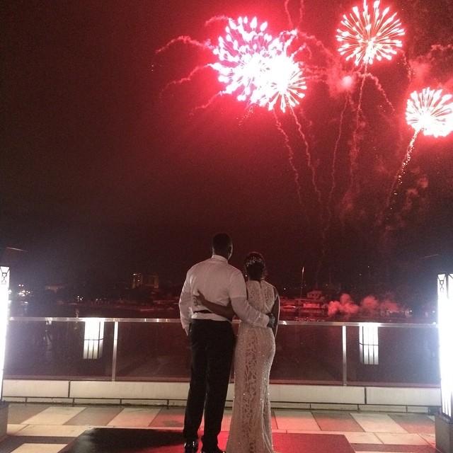 Dr Sid Simi Osomo White Wedding Loveweddingsng17