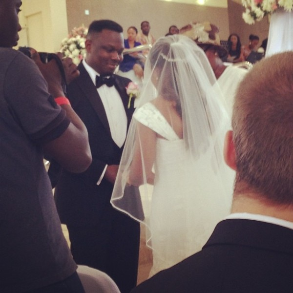 Dr Sid Simi Osomo White Wedding Loveweddingsng2