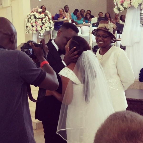 Dr Sid Simi Osomo White Wedding Loveweddingsng3