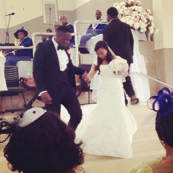 Dr Sid Simi Osomo White Wedding Loveweddingsng4