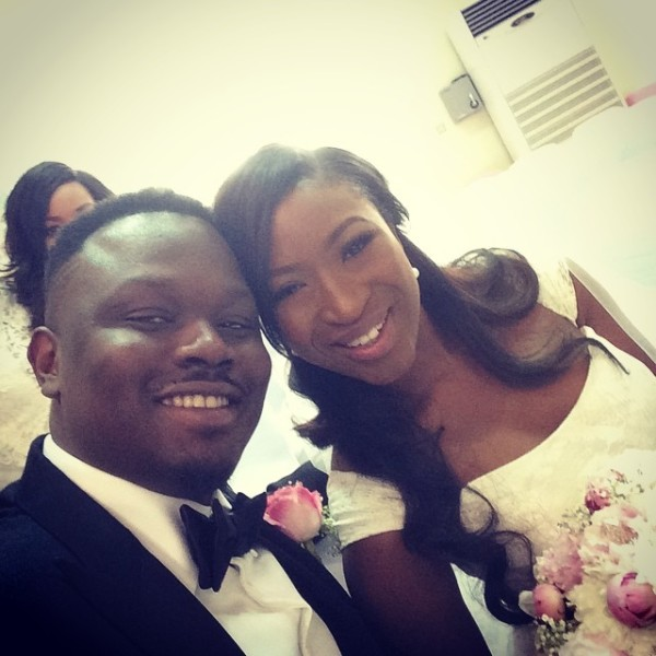 Dr Sid Simi Osomo White Wedding Loveweddingsng5