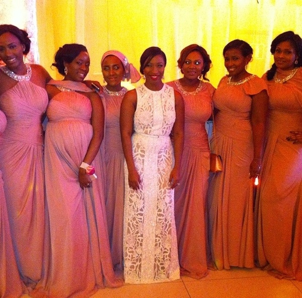 Dr Sid Simi Osomo White Wedding Loveweddingsng7
