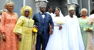 Gbenga Sosan weds Buki Osazuwa Loveweddingsng19