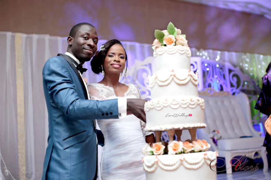 Loveweddingsng Joke and Dayo White Wedding Alore Studios