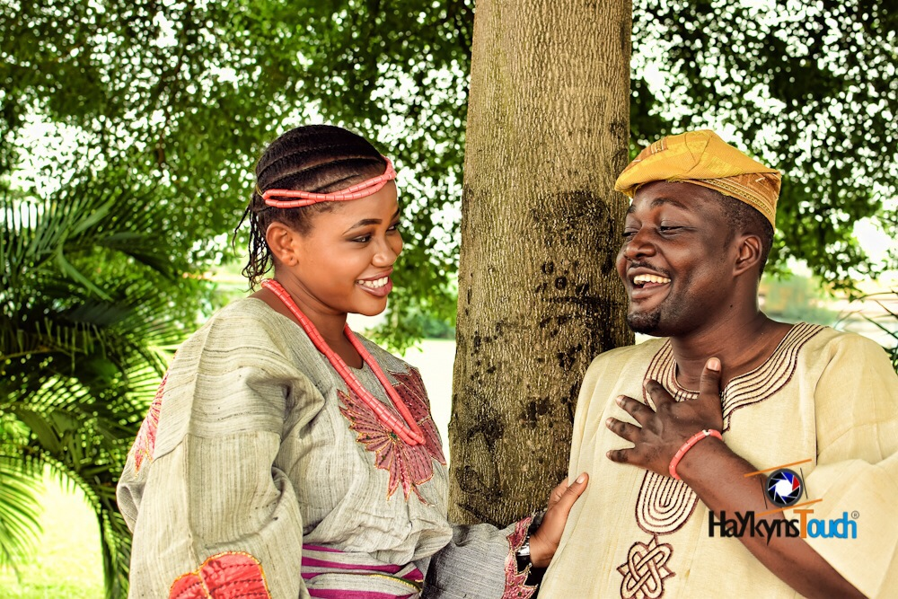 Loveweddingsng Tribal Prewedding shoot Haykyns Touch