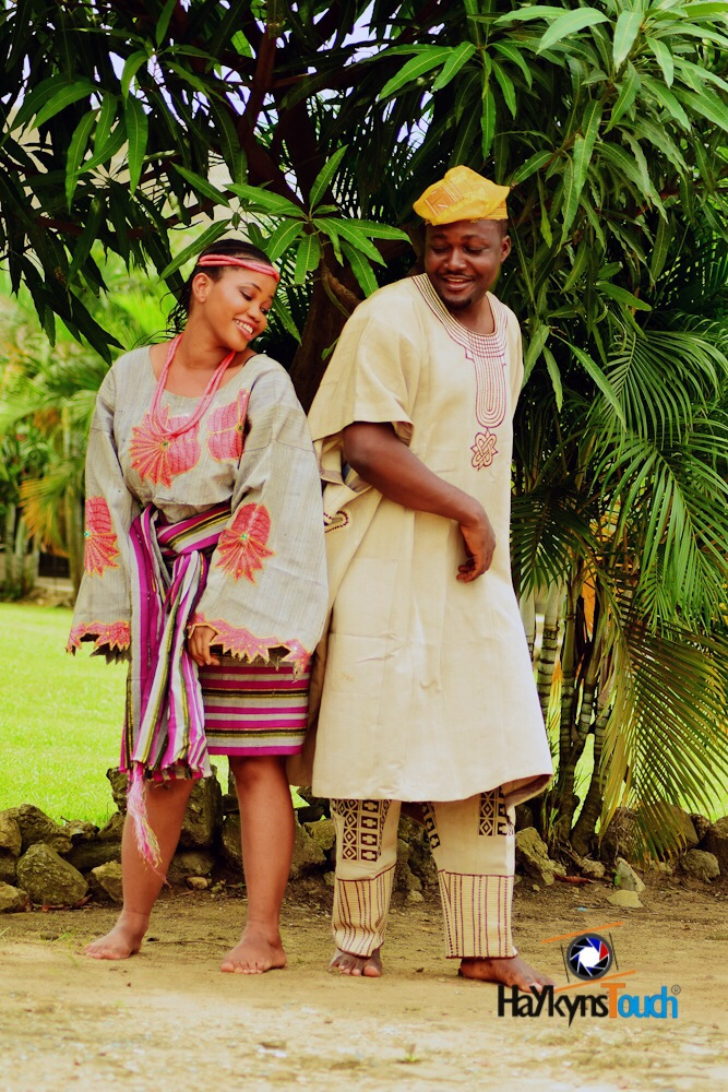 Loveweddingsng Tribal Prewedding shoot Haykyns Touch1