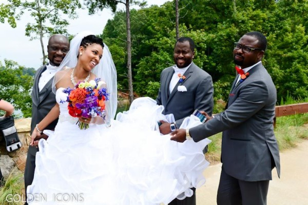 Nollywood Robert Peters weds Deborah Smalling Loveweddingsng