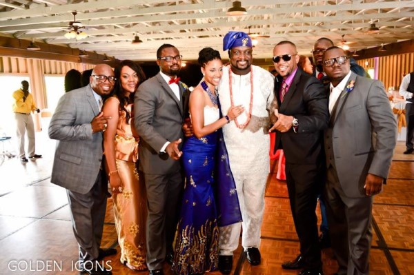 Nollywood Robert Peters weds Deborah Smalling Loveweddingsng17