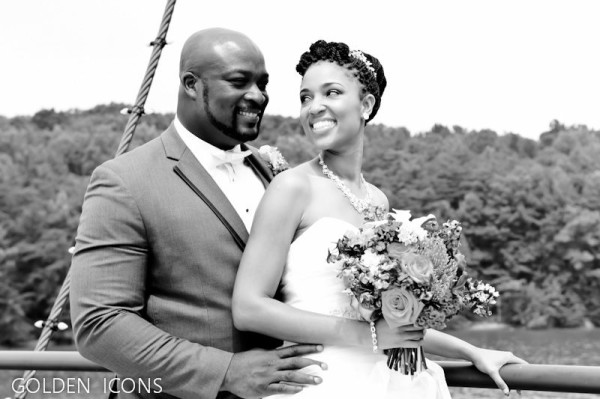 Nollywood Actor/Director Robert Peters weds Deborah Smalling