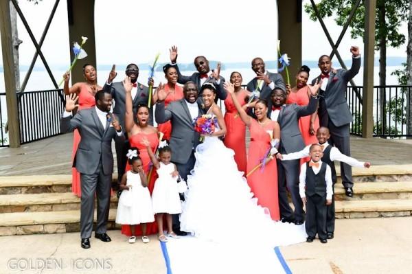 Nollywood Robert Peters weds Deborah Smalling Loveweddingsng4