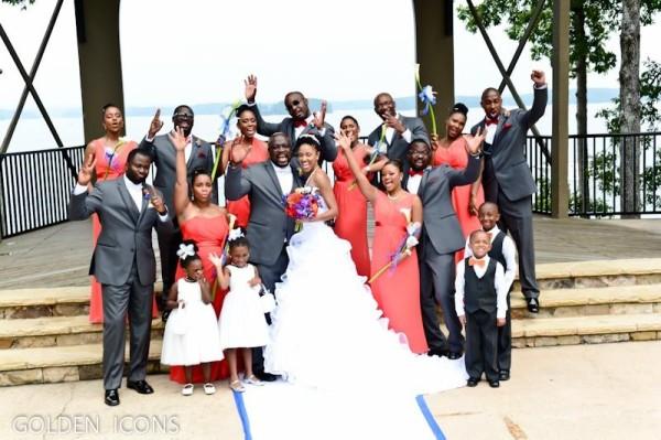 Nollywood Robert Peters weds Deborah Smalling Loveweddingsng5