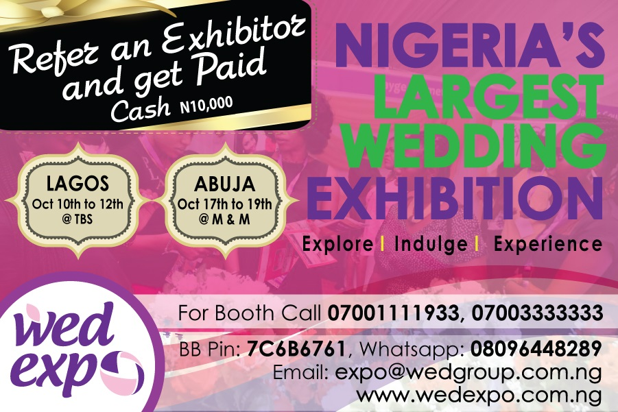 WED Expo: Refer an Exhibitor and get paid N10,000