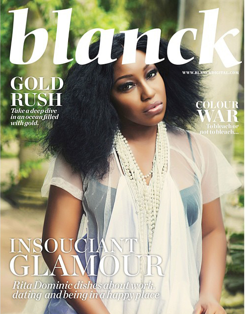 Rita Dominic Blanck Magazine Loveweddingsng