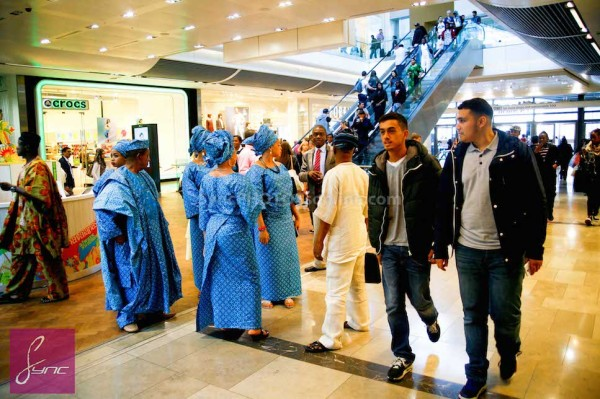 Alaafin of Oyo and Four Wives in London Loveweddingsng