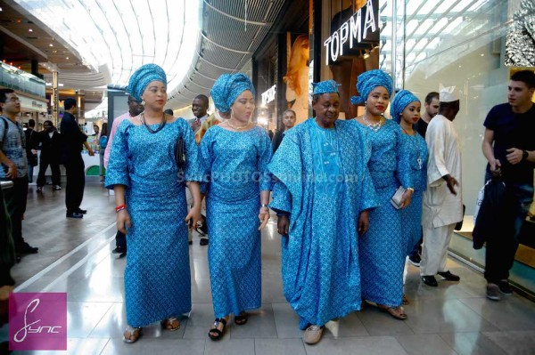 The Alaafin of Oyo & His 4 Wives Go Shopping In London