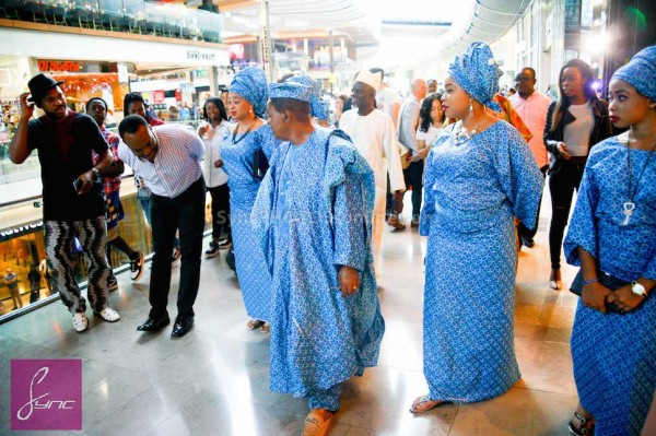 Alaafin of Oyo and Four Wives in London Loveweddingsng3