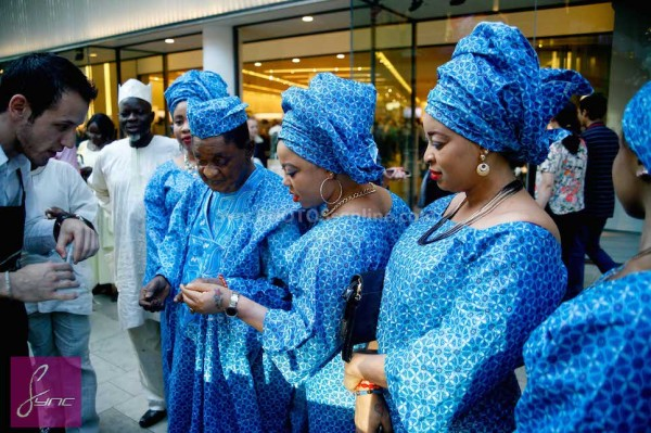 Alaafin of Oyo and Four Wives in London Loveweddingsng5