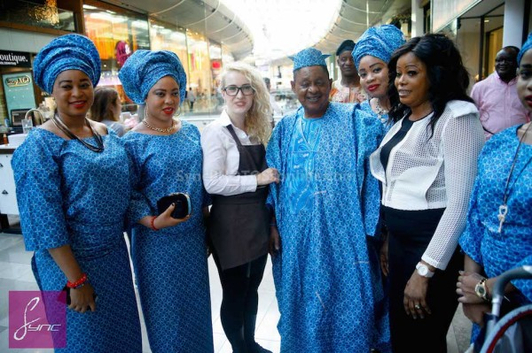 Alaafin of Oyo and Four Wives in London Loveweddingsng7