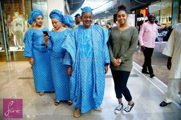 Alaafin of Oyo and Four Wives in London Loveweddingsng8
