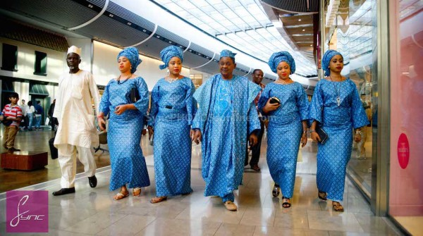 Alaafin of Oyo and Four Wives in London