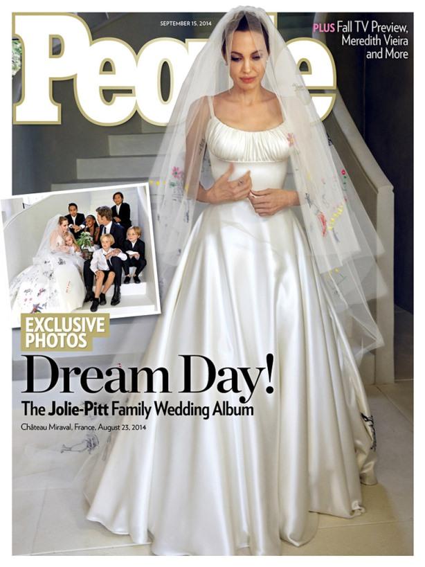 Angelina Jolie Brad Pitt Wedding Pictures