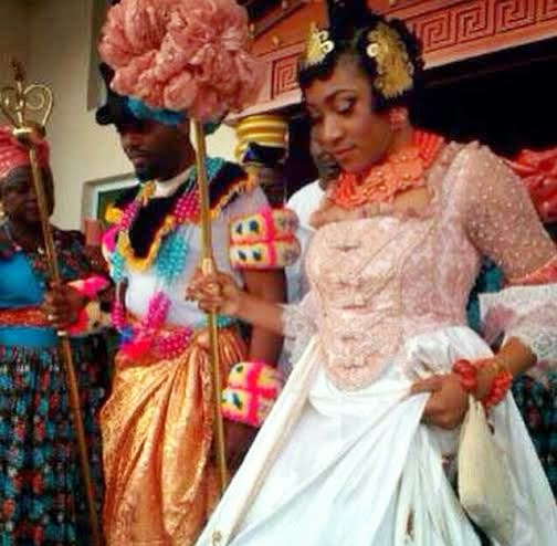 Koko Ita Giwa weds Chimaobi Loveweddingsng Traditional Wedding3