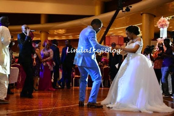 Koko Ita Giwa weds Chimaobi Loveweddingsng - White Wedding 2Face Idibia