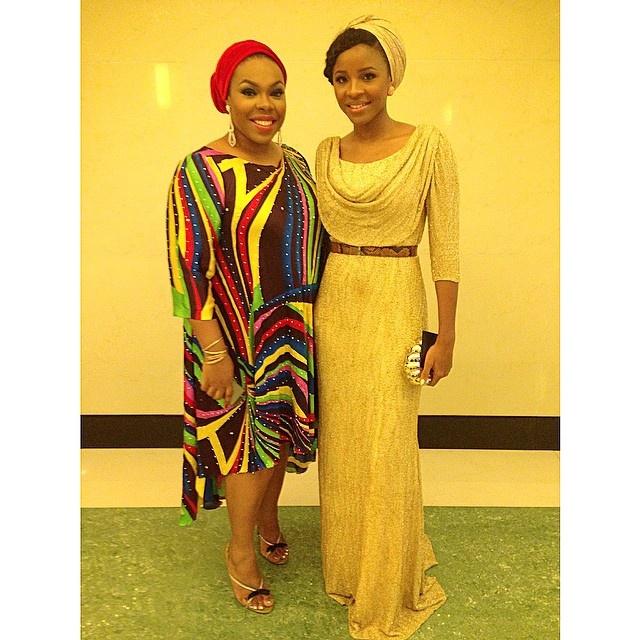 Mo Abudu at 50 - Jasmine Tukur & Aisha Augie-kuta