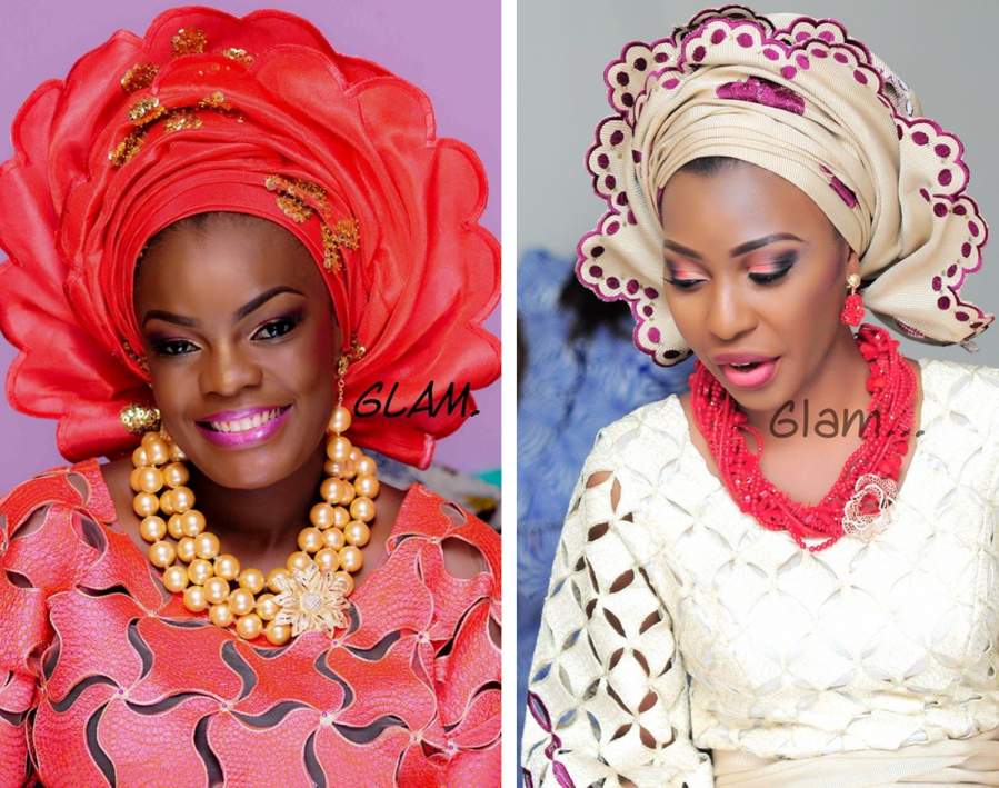 Simi Kesh Glam Touch Makeovers Loveweddingsng - Folake and Yomi