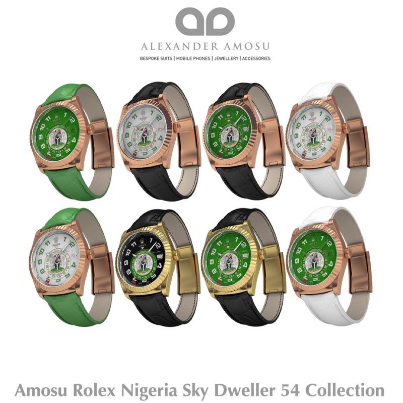 Amosu Rolex Nigerian Sky Dweller 54 Loveweddingsng feat