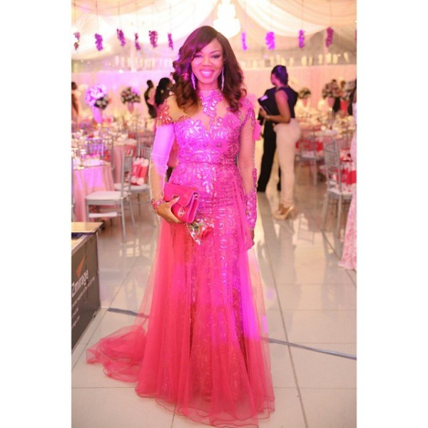 Genevieve Pink Ball 2014 - Betty Irabor