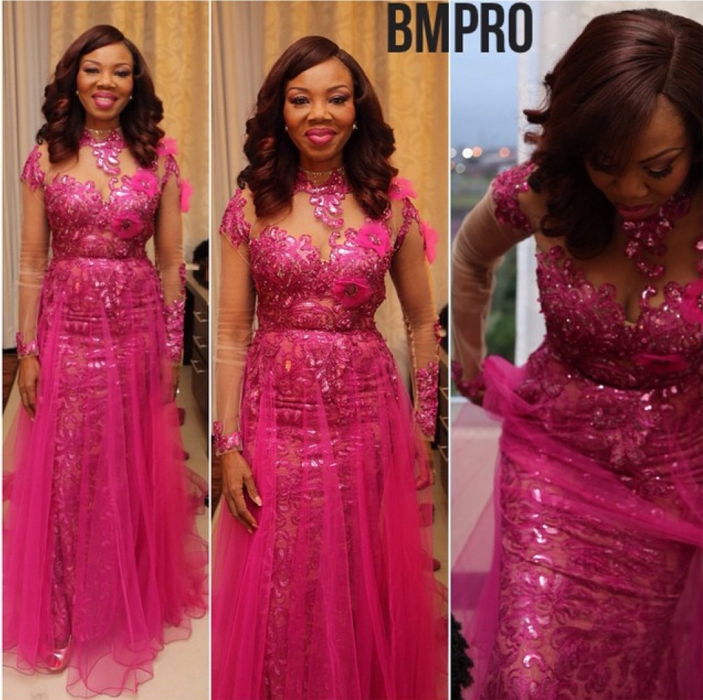 Genevieve Pink Ball 2014 - Betty Irabor1