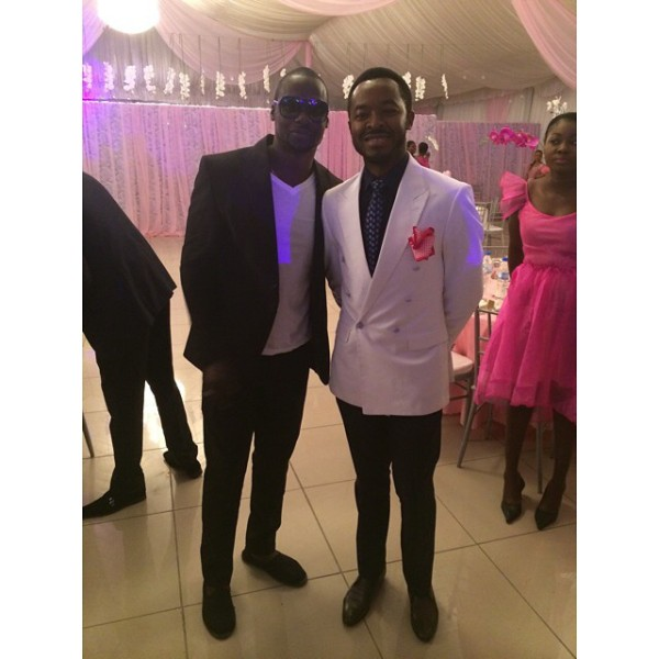 Genevieve Pink Ball 2014 - Chris Attoh and OC Ukeje