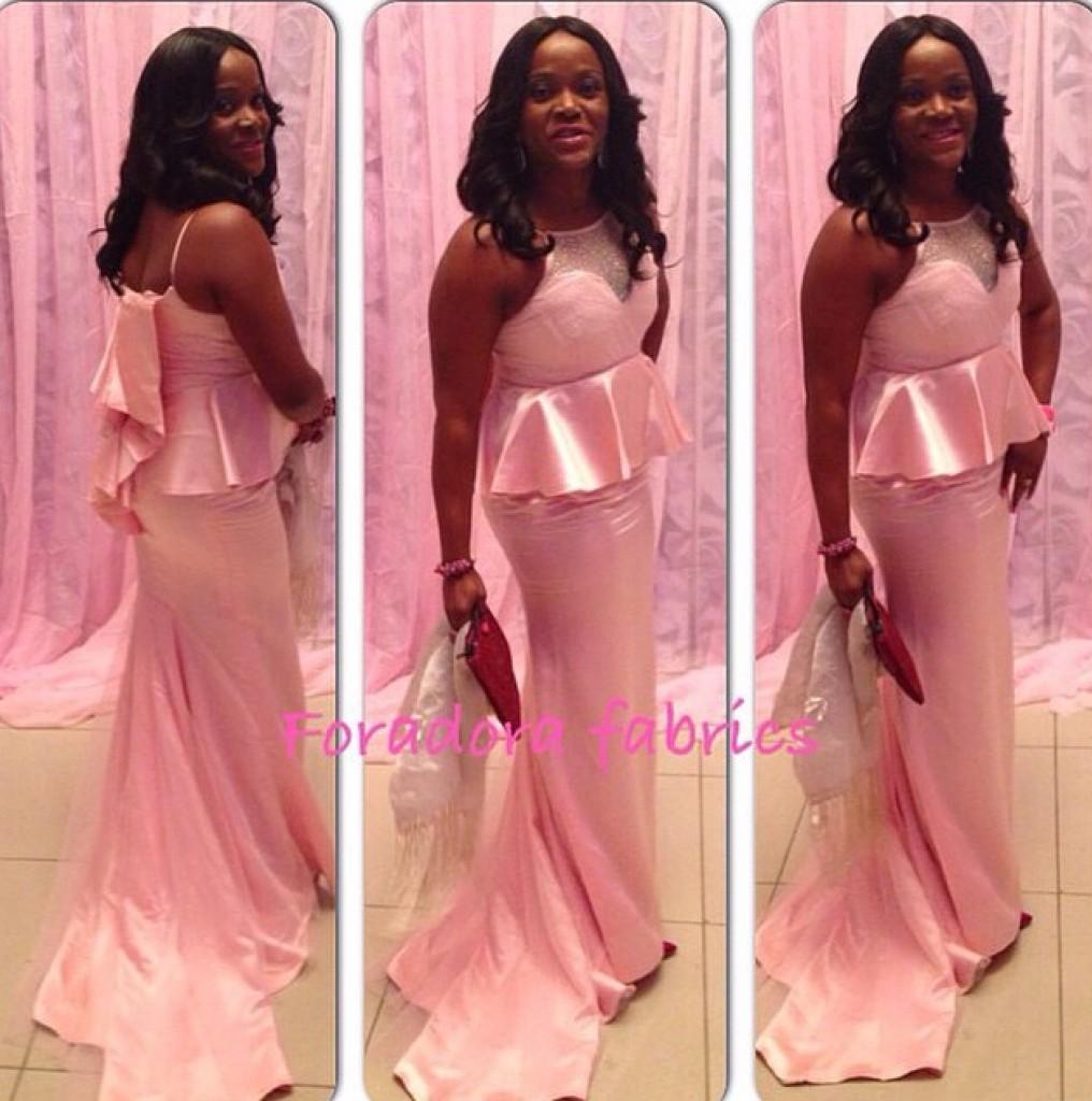Genevieve Pink Ball 2014 - Foradora Fabric
