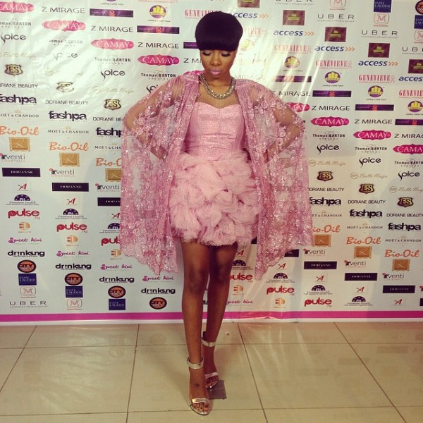 Genevieve Pink Ball 2014 - Mo Cheddah1