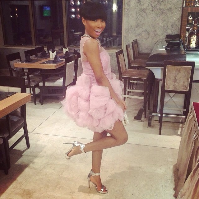 Genevieve Pink Ball 2014 - Mo Cheddah2