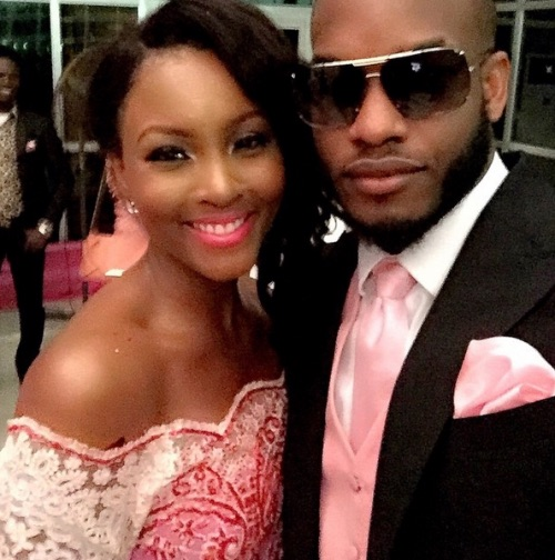 Genevieve Pink Ball 2014 - Osas Ighodaro and Lynxxxx