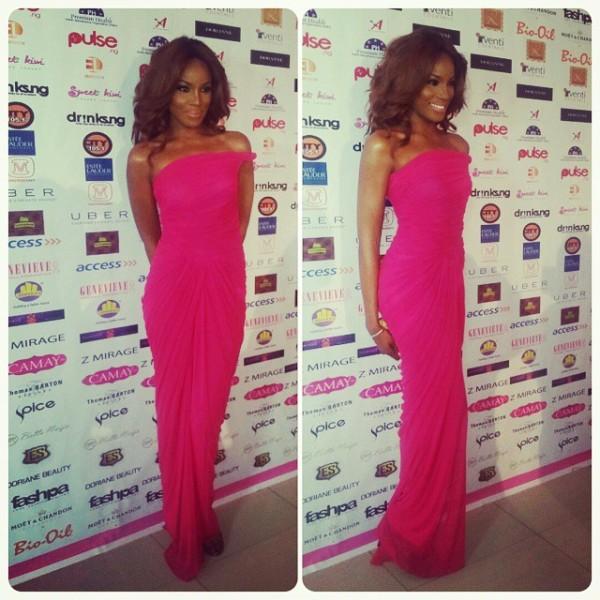 Genevieve Pink Ball 2014 - Seyi Shay