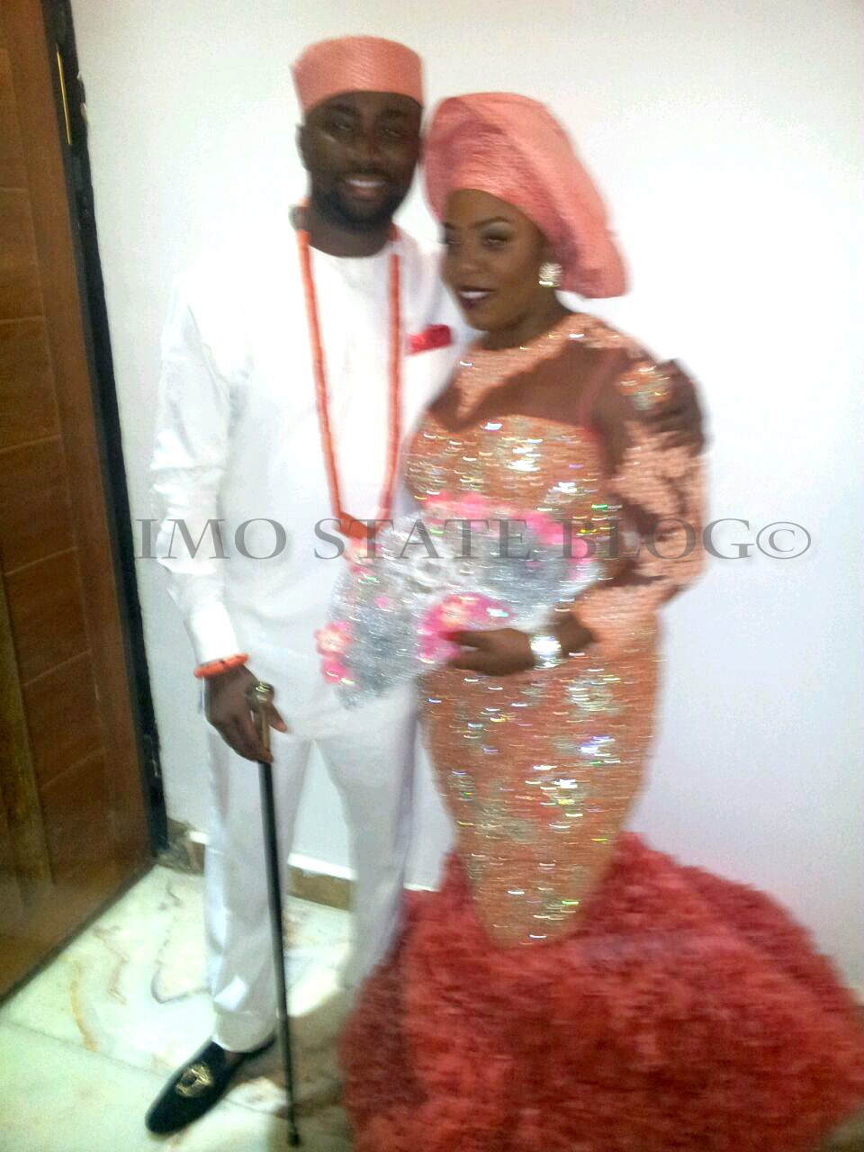 Governor Rochas Okorochas Daughter Uju weds Uzoma Anwuka Loveweddingsng11