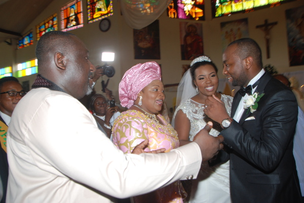 Governor Rochas Okorochas Daughter Uju weds Uzoma Anwuka Loveweddingsng13