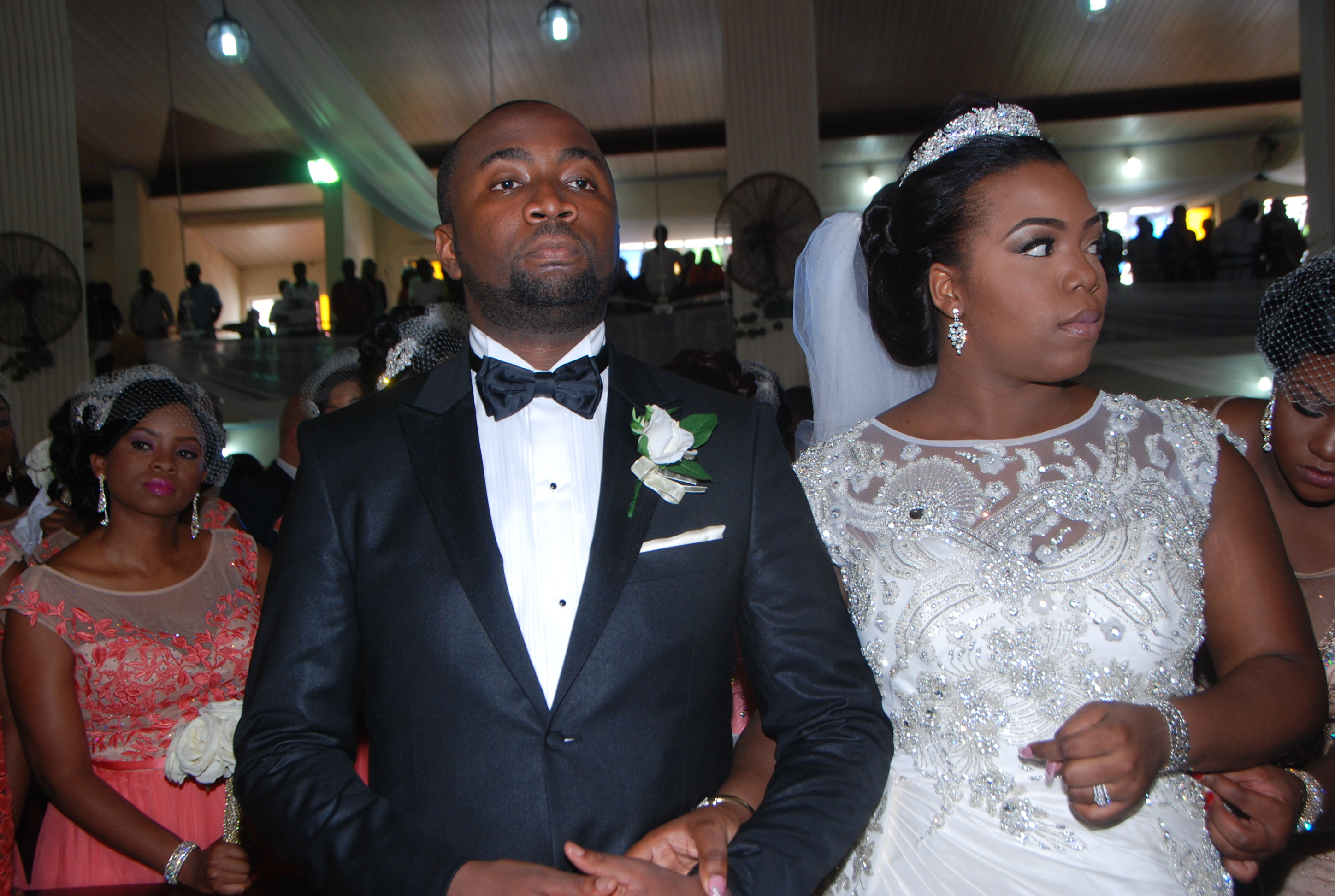 Governor Rochas Okorochas Daughter Uju weds Uzoma Anwuka Loveweddingsng15