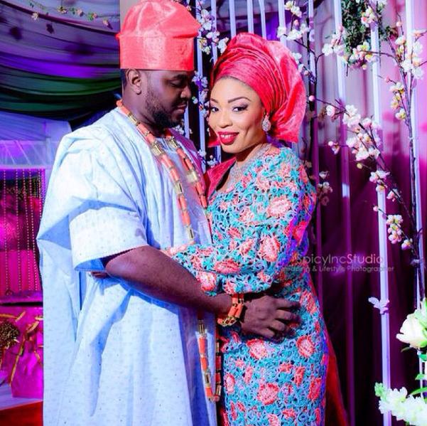 Joke and Azeez Ogedengbe Loveweddingsng36