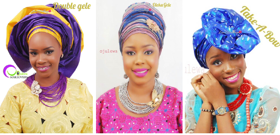 Different Gele Styles for Nigerian Brides – Ojulewa Studio