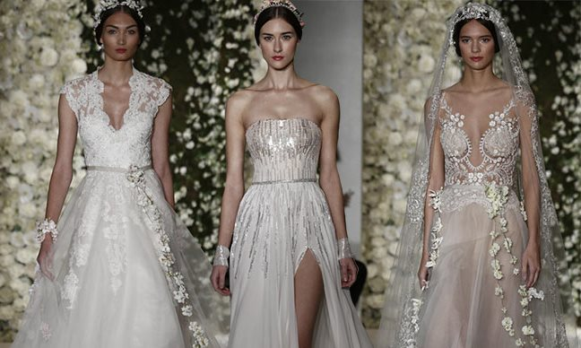 Reem Acra Bridal Fall 2015 Collection